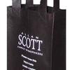 Custom printed PP non-woven wine bag for 2 bottles  image