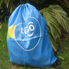 Drawstring sports bag polyester 47x38cm with your own custom print image