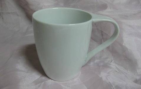Custom logo ceramic mug 8.5x6.8x10cm image