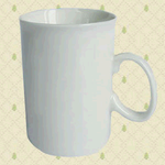 Custom logo ceramic mug 7.5x7.5x10.5cm image