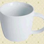 Custom logo ceramic mug 8.5x7.4x9cm image