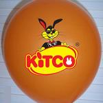 """Custom printed 10"""" (25cm) balloon with your artwork or logo image"""