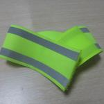 Elastic reflective safety armband / ankle band printed with logo image