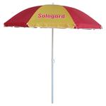 Custom printed golf umbrella 200cm image