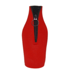 Zippered bottle sleeve for 33cl bottles with your custom print for image